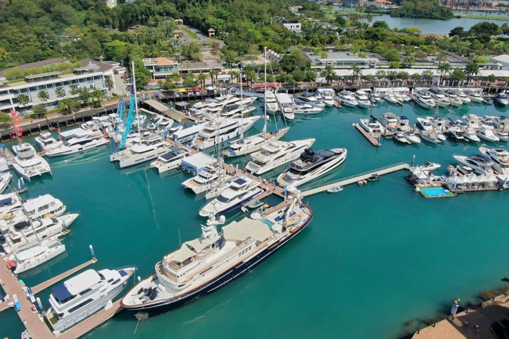 KRSR partners the Singapore Yacht Show 2019