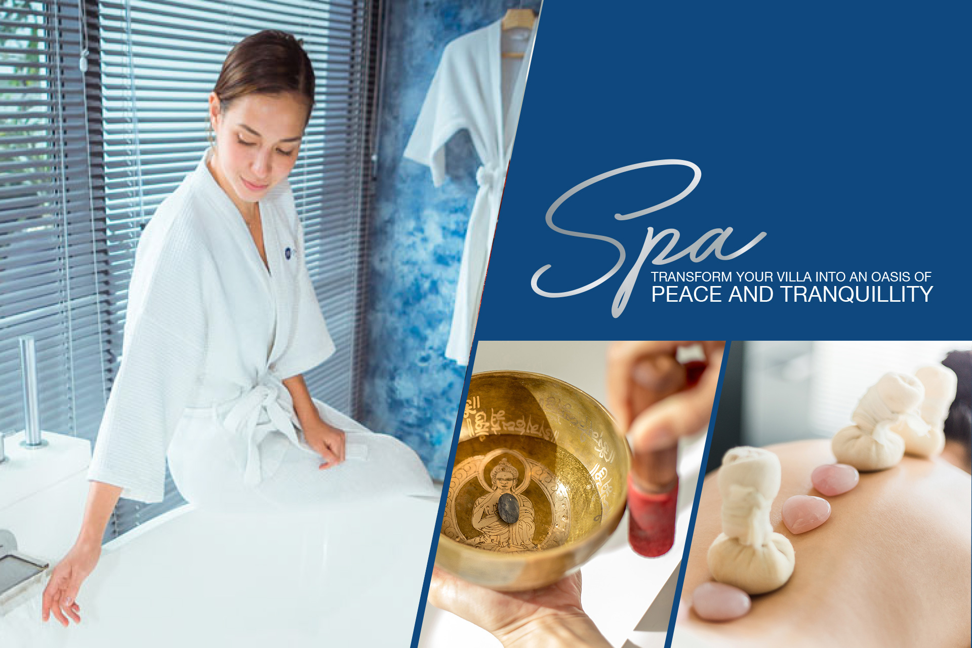 In-villa spa peace and tranquillity
