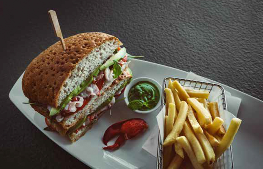KR LOBSTER CLUB SANDWICH