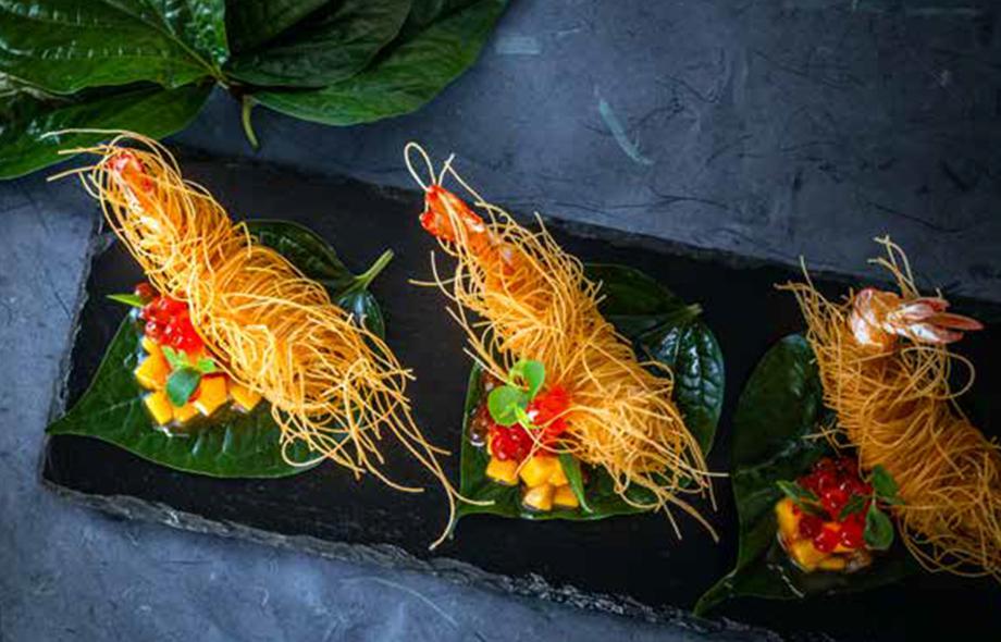 Thai Appetizers - Goong Sarong