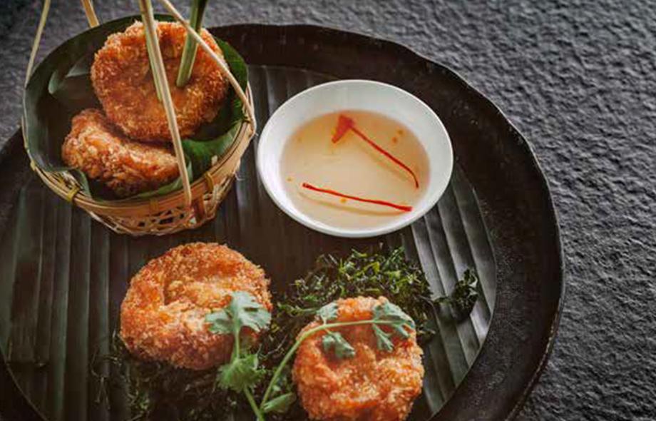 Thai Appetizers - TORD MUN GOONG