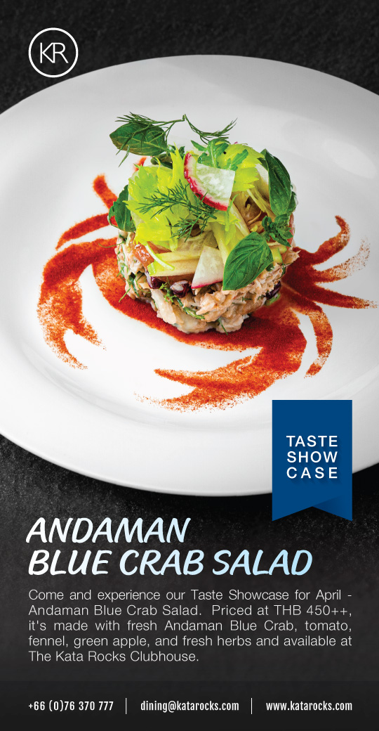 Andaman Blue Crab Salad