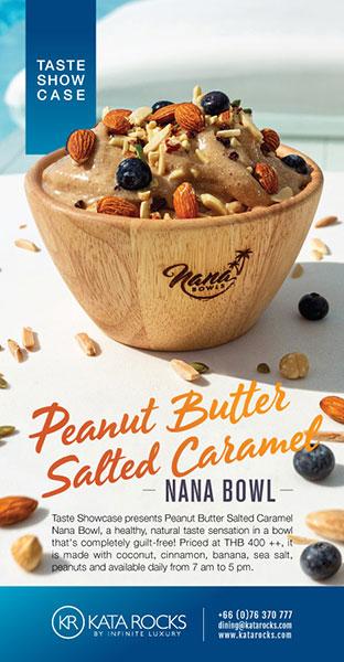 Peanut Butter Salted Caramel Nana Bowl