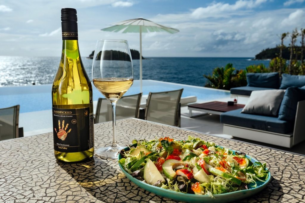 September 2019 wine promotion at the The Kata Rocks Clubhouse