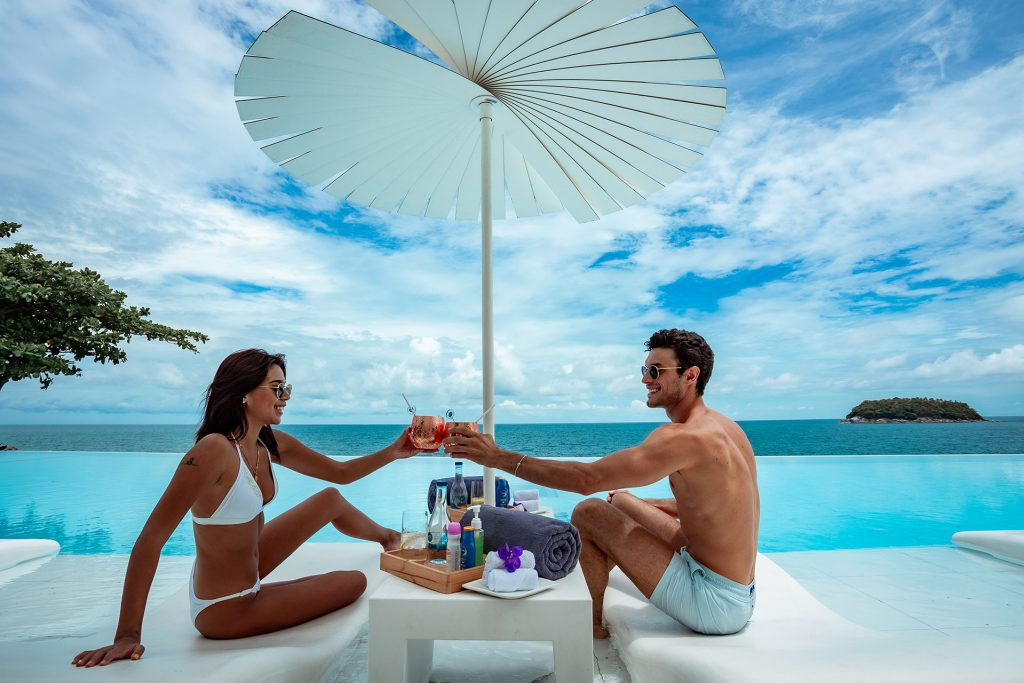 Infinite Luxury Daypass experience package at Kata Rocks