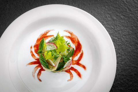 Andaman Blue Crab Salad