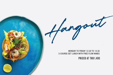 Hangout Lunch Menu