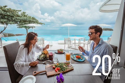 Welcome Back To Phuket With A 20% Discount For All Food & Beverage At The Kata Rocks Clubhouse