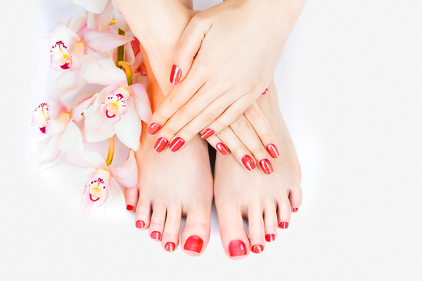 Foot massage and pedicure special